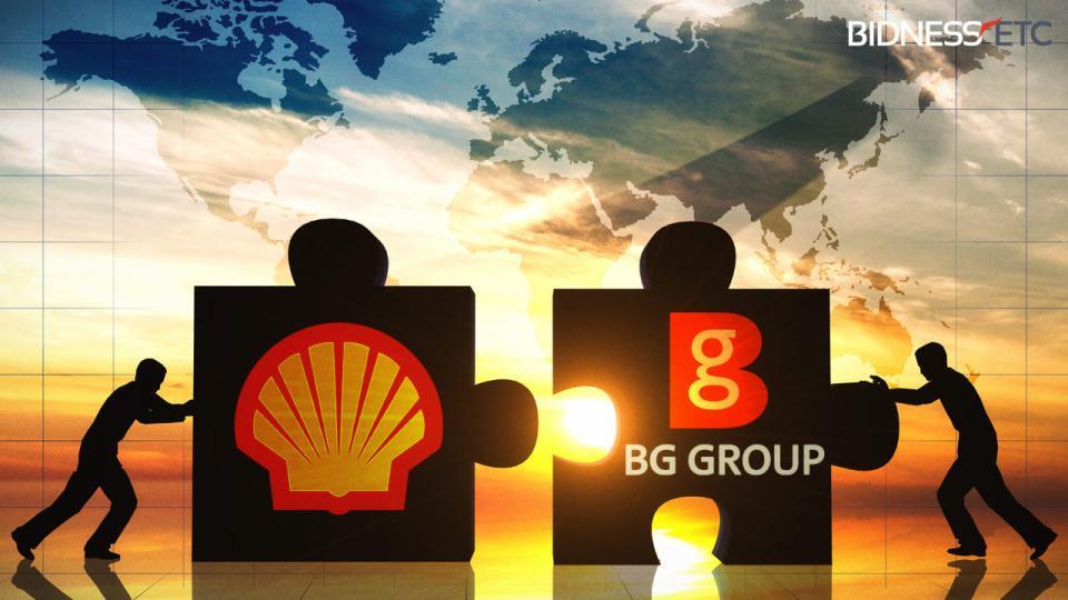 gas oil shell BG merger