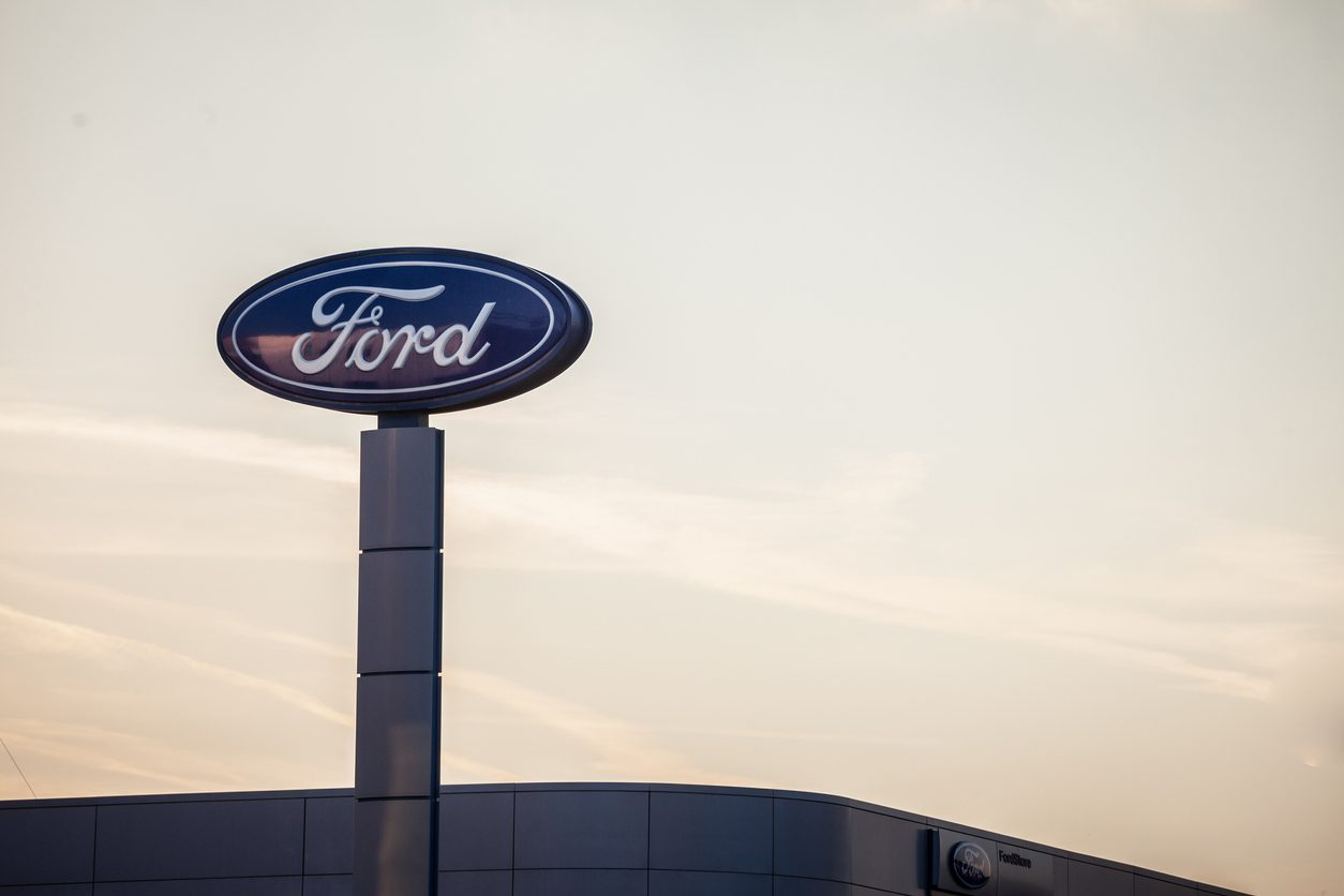 Ford halts production