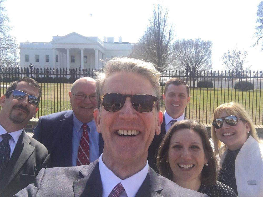 Tony Uphoff at The White House