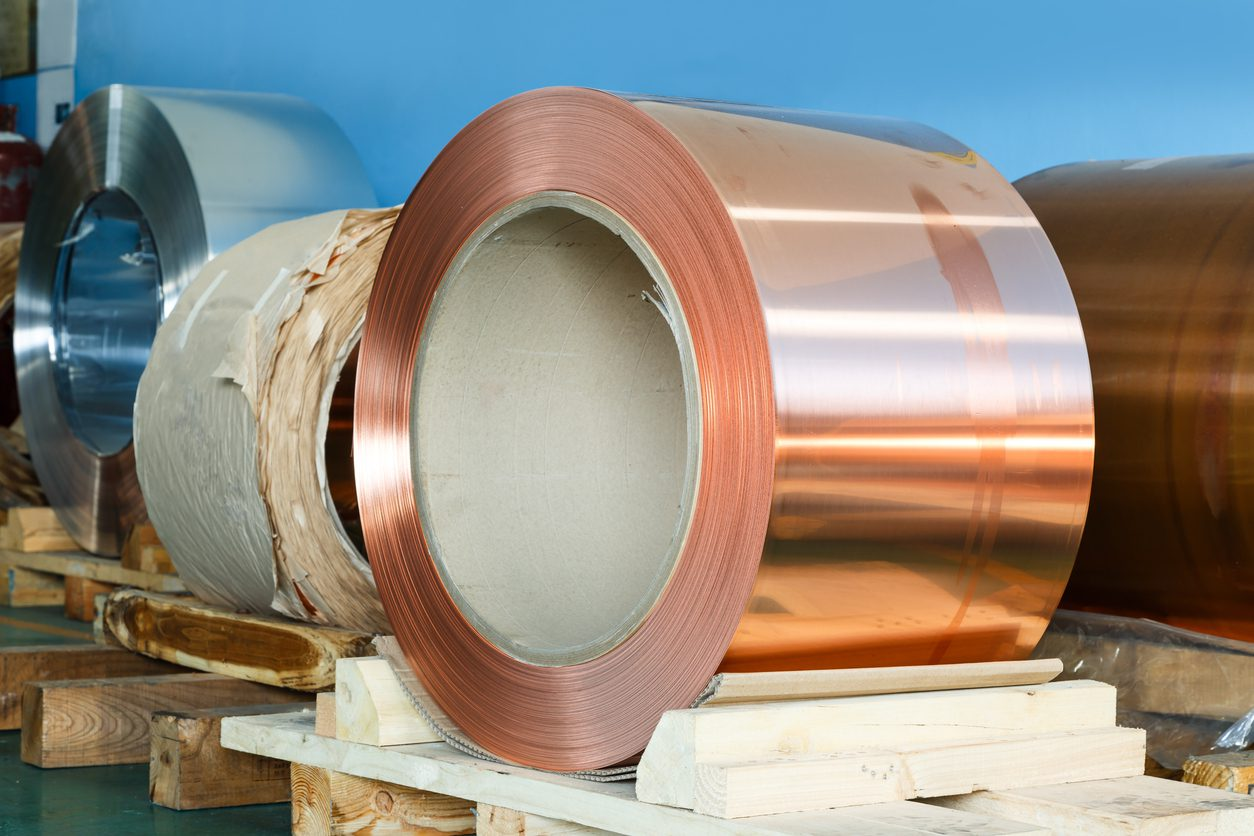 Copper Prices Falling