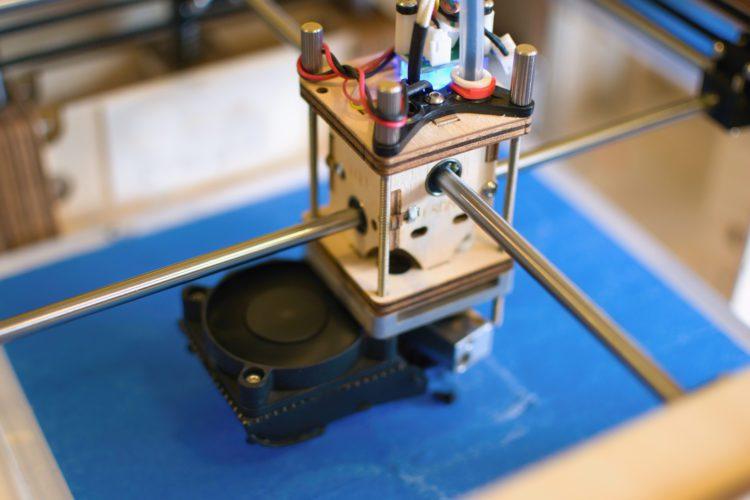 3D printing head